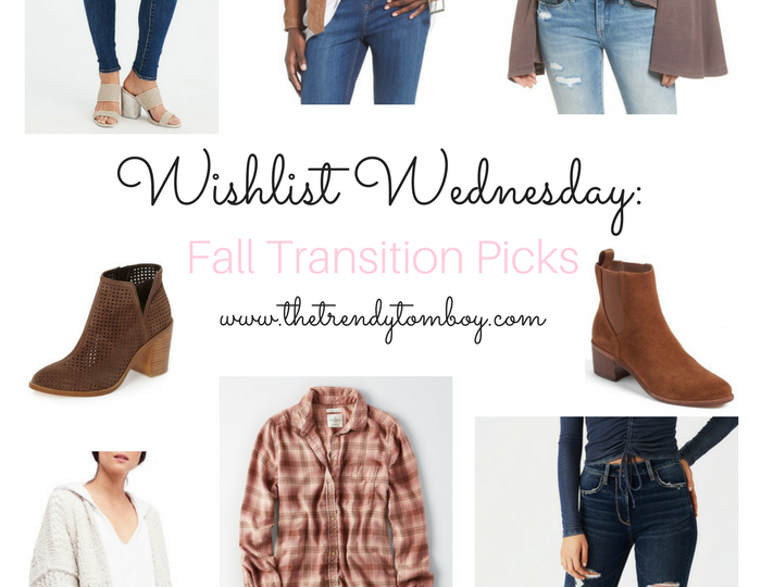Wishlist Wednesday: Fall Transitions