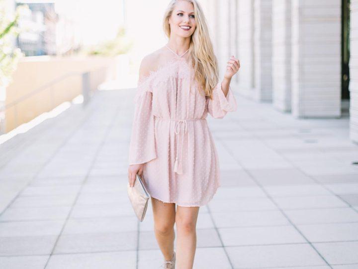 Blush Dresses Under $100