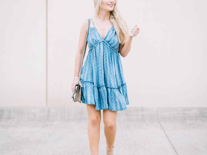 Chambray Sundress