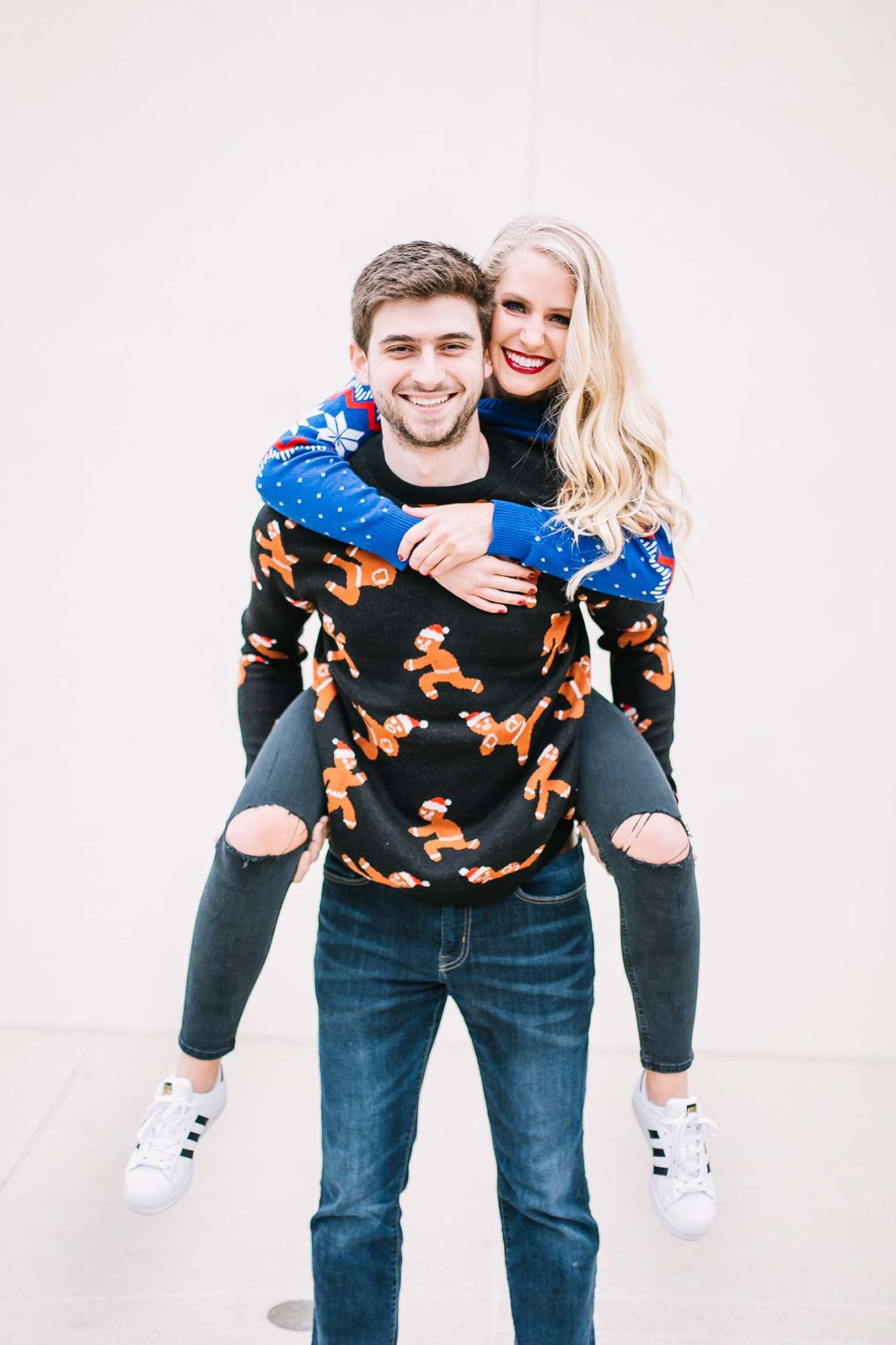His & Hers Christmas Sweaters