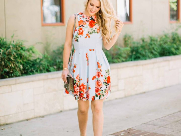 Floral Easter Dress
