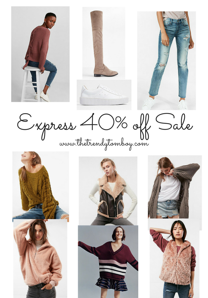 Express 40% off Sale