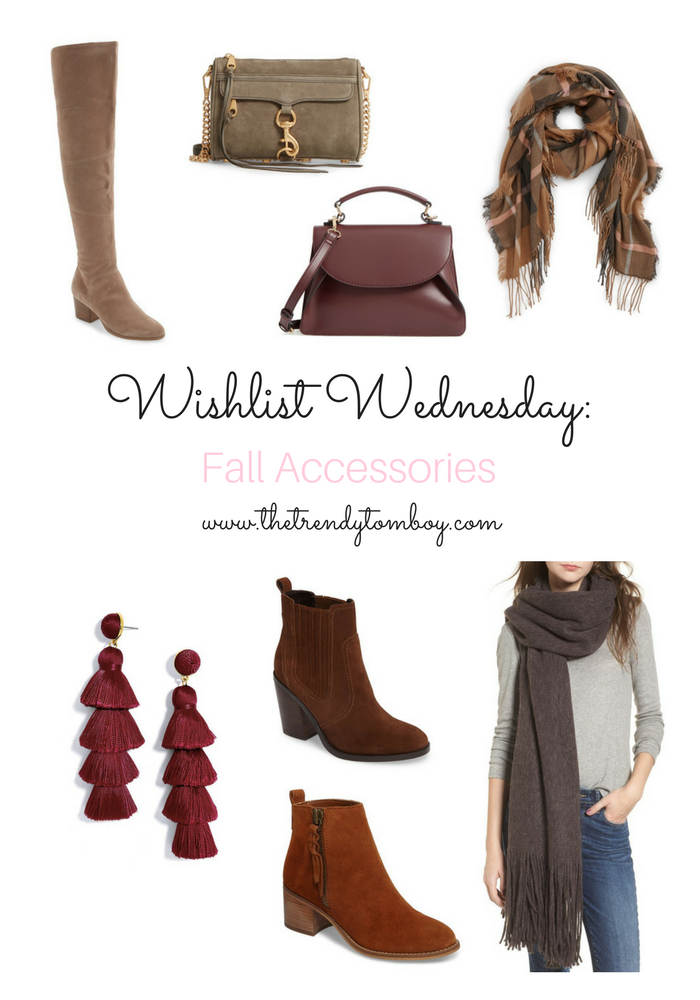 Wishlist Wednesday: Fall Accessories