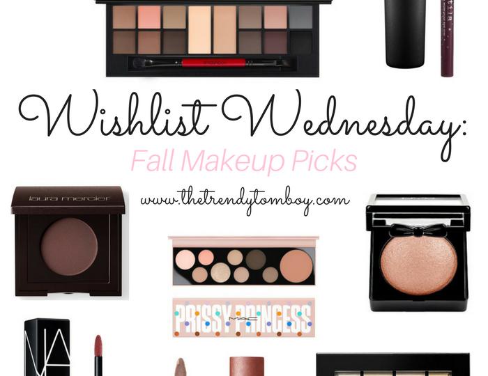 Wishlist Wednesday: Fall Makeup