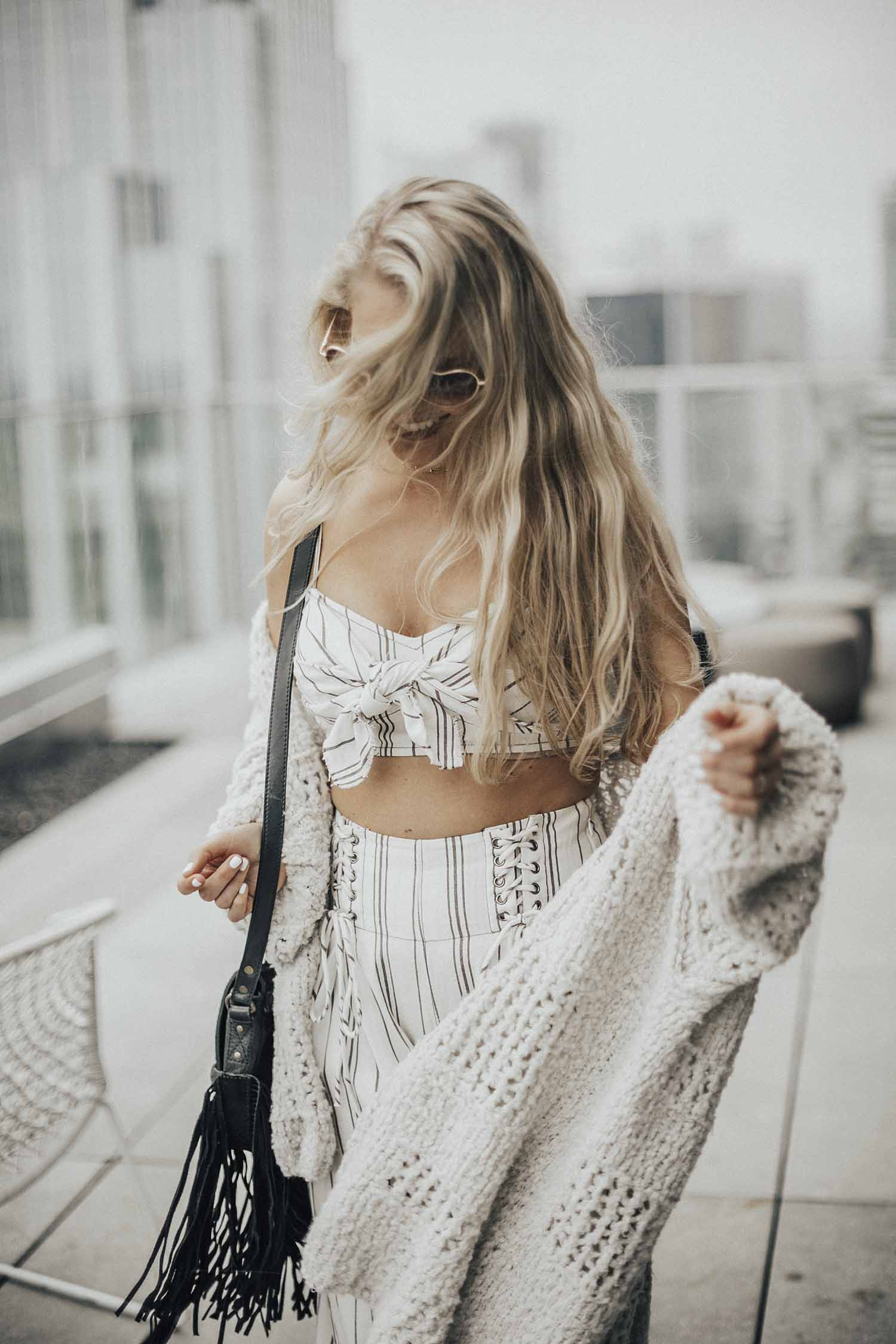 free people boho spring outfit