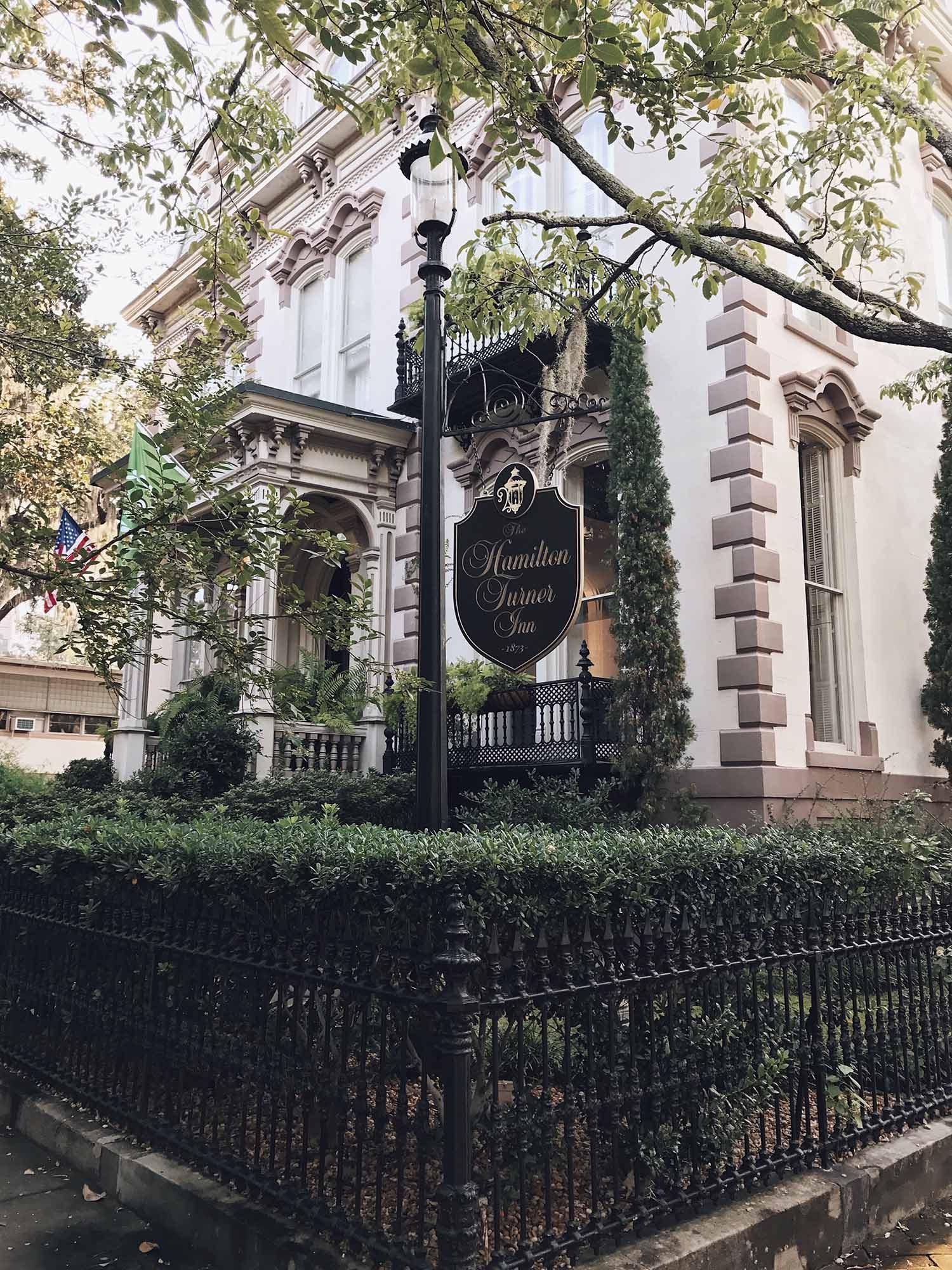 Hotel Review: The Hamilton-Turner Inn