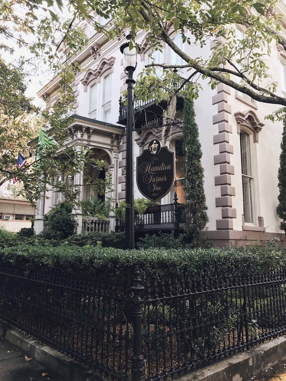 the hamilton turner inn savannah