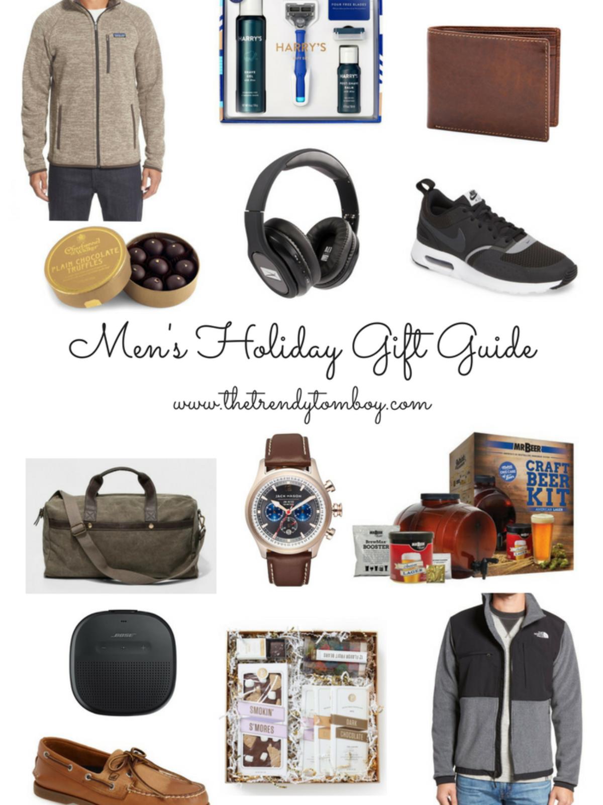 mens holiday gifts