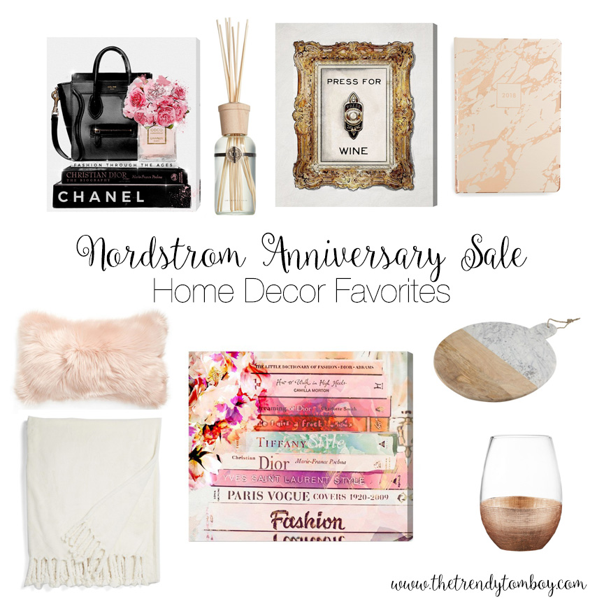 Home the trendy tomboy Nordstrom home decor sale