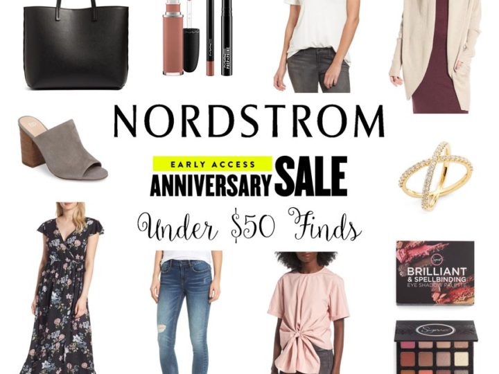 Nordstrom Anniversary Sale: Under $50 Finds