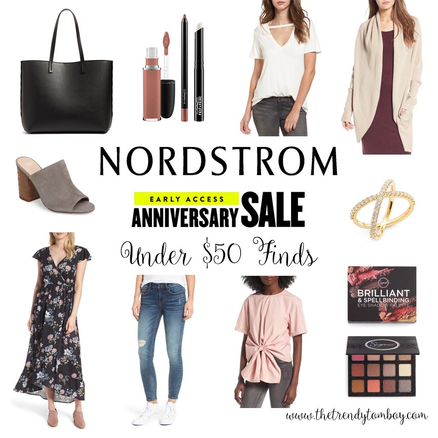 nordstrom anniversary sale under $50 buys