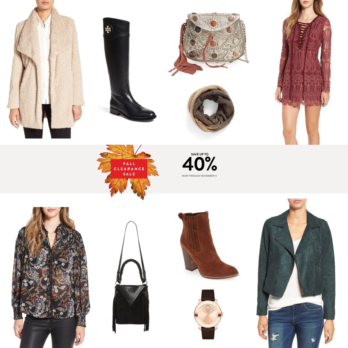 Fashion blogger The Trendy Tomboy's Nordstrom Clearance Sale Picks