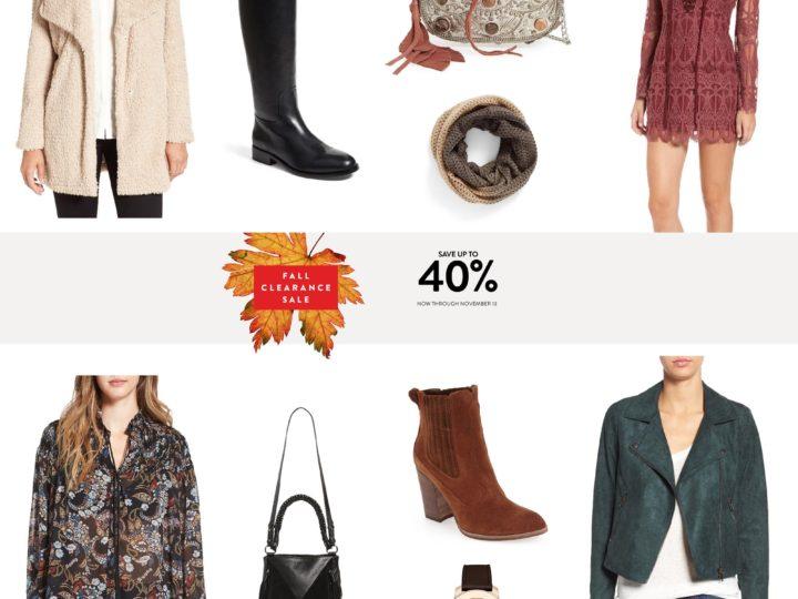 Wishlist Wednesday: Nordstrom Sale