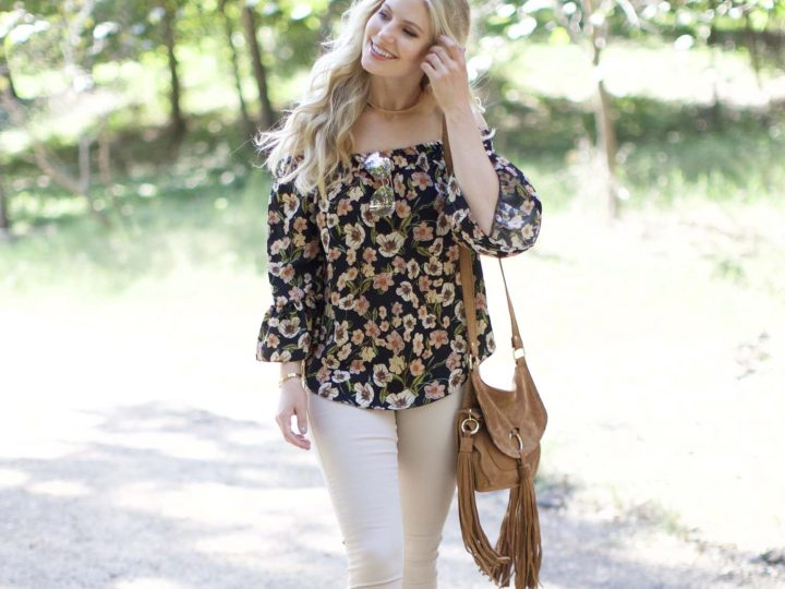 Floral Off-the-Shoulder