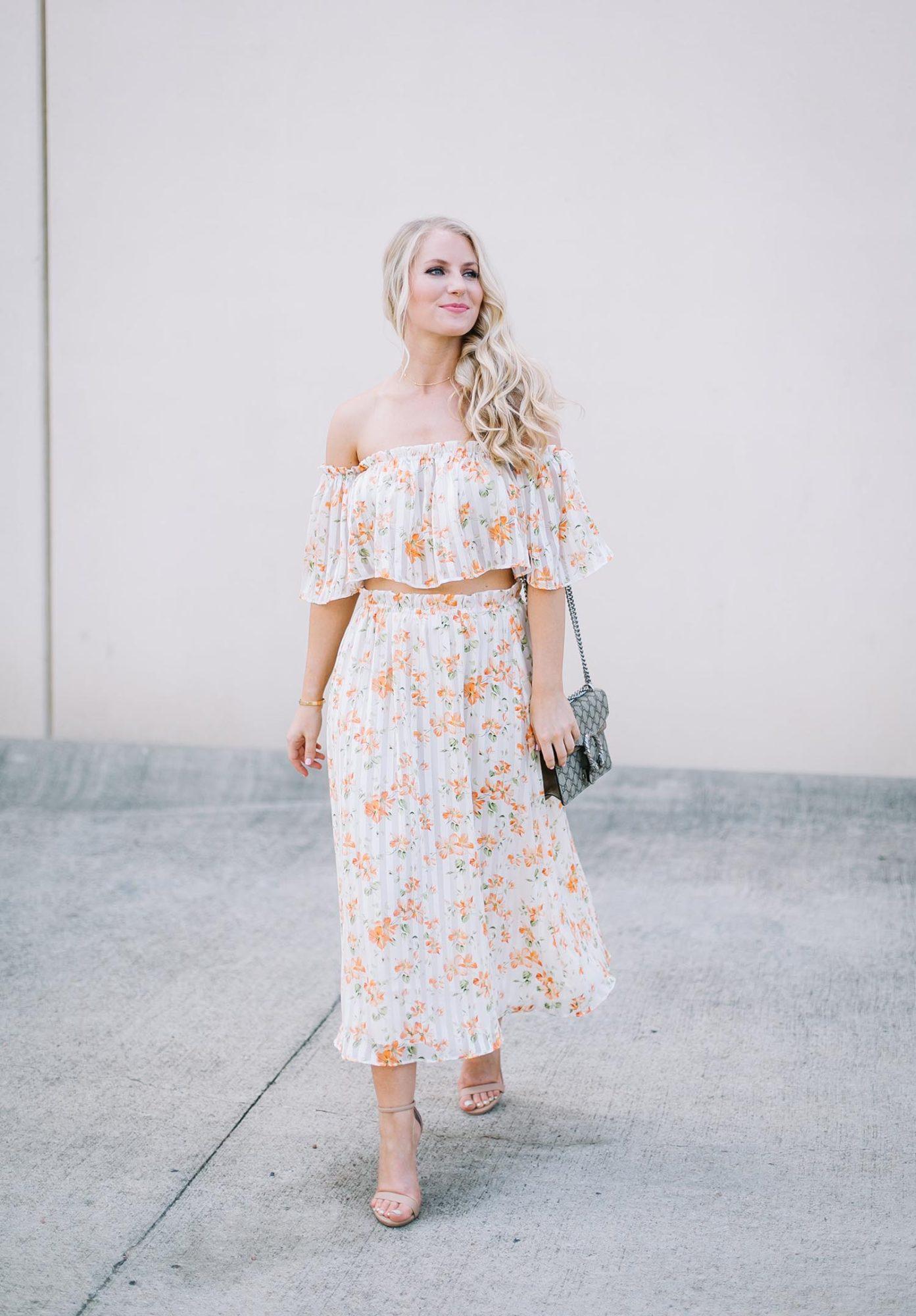 Orange Florals + Nordstrom Anniversary Sale