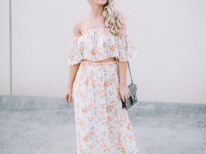 Orange Florals + Nordstrom Anniversary Sale