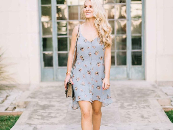 Petite Floral Dress