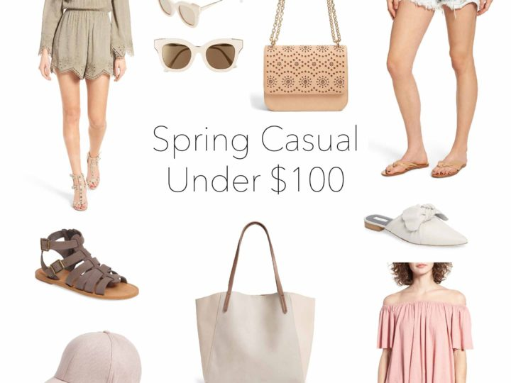 Wishlist Wednesday: Spring Casual