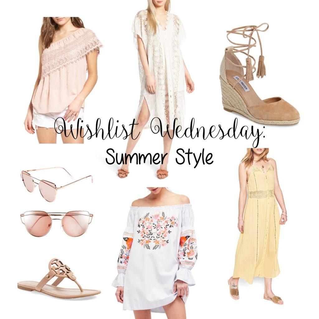 Wishlist Wednesday: Summer Style