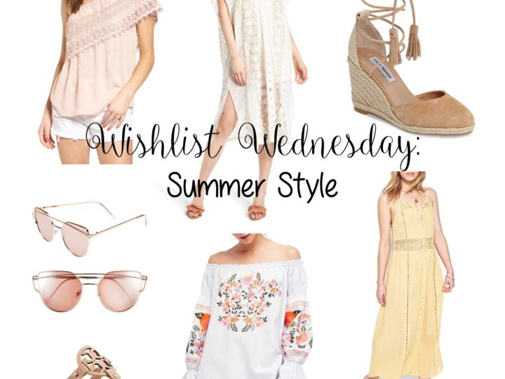Wishlist Wednesday: Summer Style