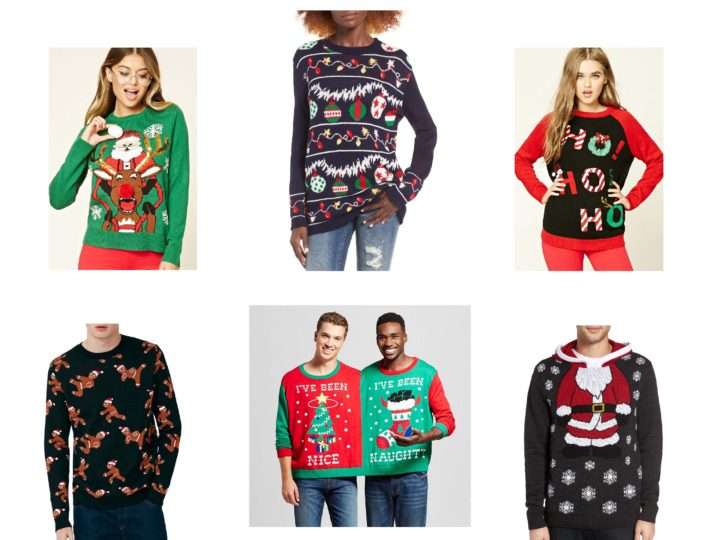 Wishlist Wednesday: Holiday Sweaters