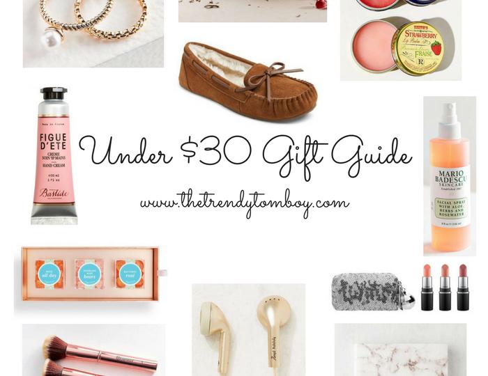 Wishlist Wednesday: Under $30 Gift Guide