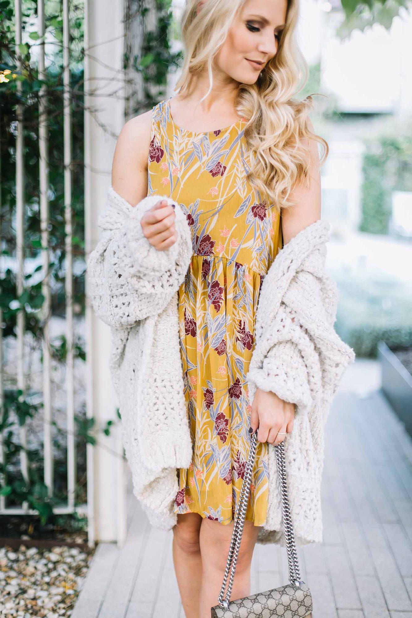 Yellow Fall Dress