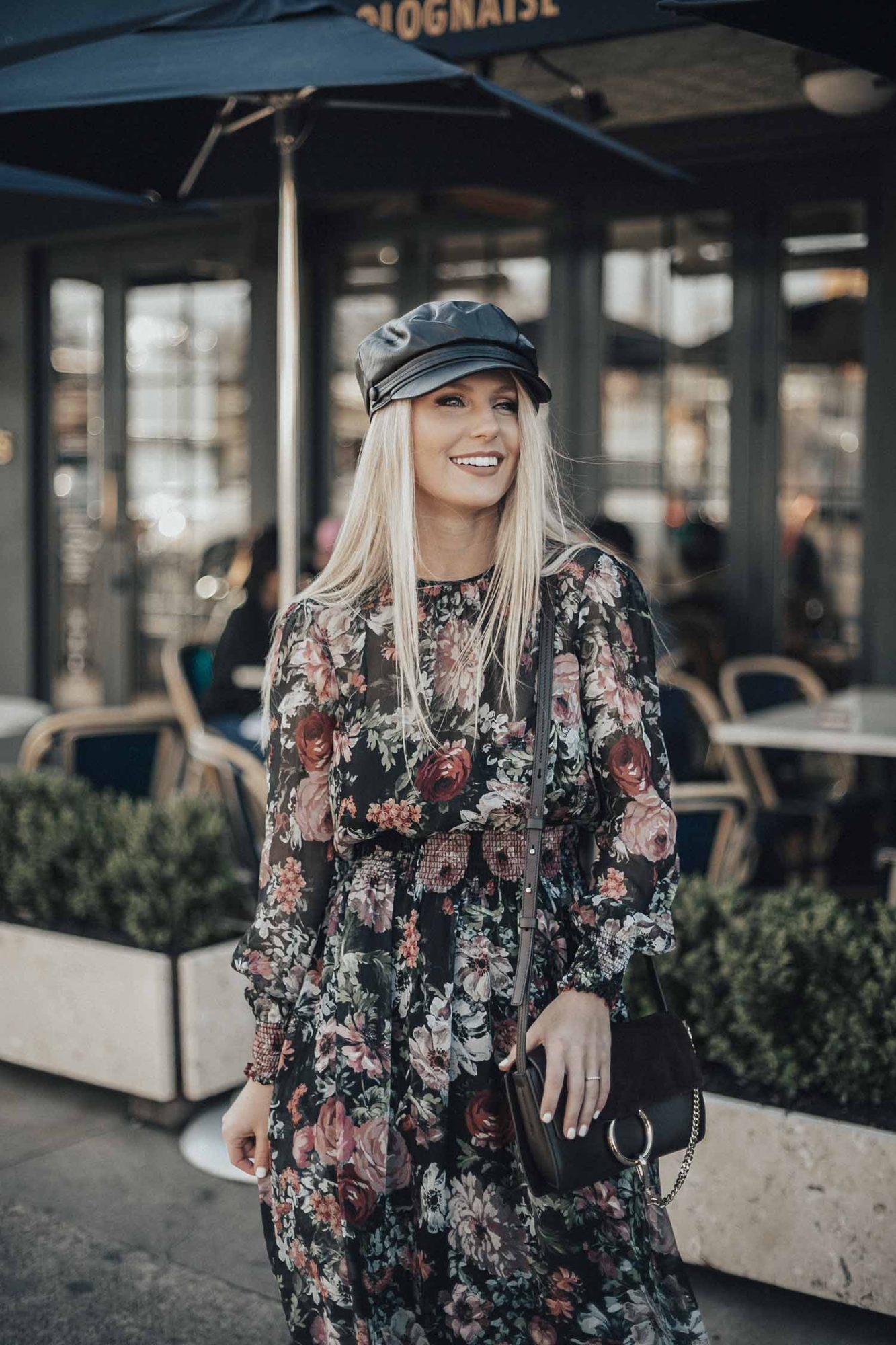 Floral Midi Dress + Announcement